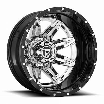 Dually Rear Lethal D266 Wheels Fuel Chrome