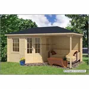 Abri De Jardin Ouvert : abri jardin 7m2 chalet en kit bois kennet 28mm terrasse ~ Premium-room.com Idées de Décoration