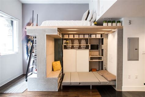 small loft designed as a multifunctional and modern space
