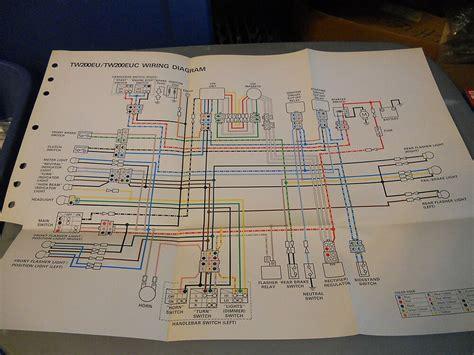 yamaha wiring diagram tweu tweuc ebay