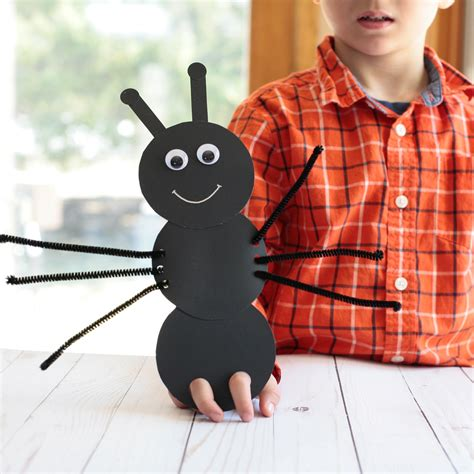 ant finger puppets super simple