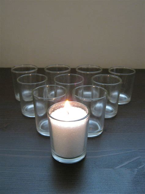 Clear Candlestick Holders by Beautiful Clear Glass Tea Light Votive Candle Holders