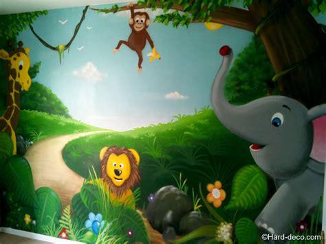 déco jungle chambre bébé deco chambre bebe jungle
