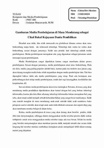Essay Contoh Pendidikan Tentang Teknologi Yang Pdf