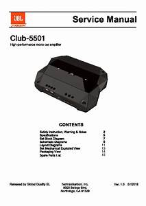 Jbl Club 5501 Service Manual  U2014 View Online Or Download