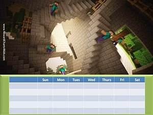 Weekly Chore Chart For Kids Free Printable Customizable Minecraft Behavior Charts