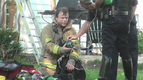 Firefighters Rescue Dog From House Fire In Buffalo Grove