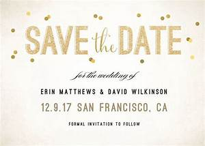 glam and trendy personalized stationary from With save the date wedding invitations walmart