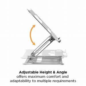 Ar-15 Height Adjustable Aluminum Laptop Riser