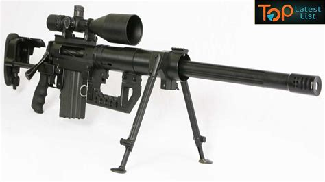 7 Latest Sniper Rifles In The World 2017