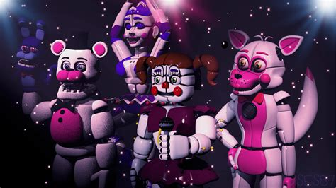 Fnaf Sister Location Five Nights At Freddy S Sister Location Wallpapers