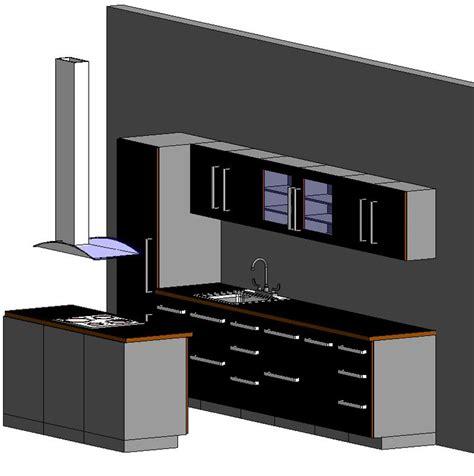 cocina completa en autocad descargar cad  kb