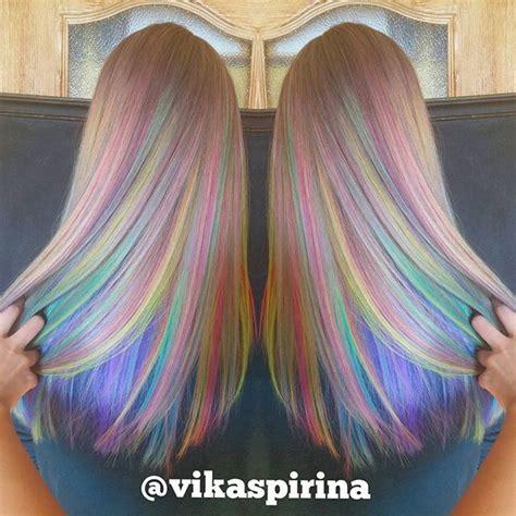 17 Best ideas about Pastel Rainbow Hair on Pinterest
