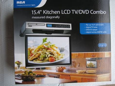 Cupboard Radio Cd Player by Discount Rca Kitchen Lcd Tv Dvd Combo 15 4 Quot