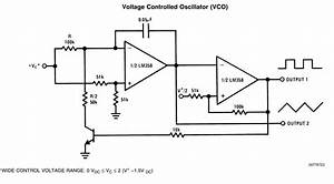 how do i make a vco with a lm 358 electrical With op amp pin diagram