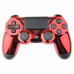Red Chrome Rapid Fire PlayStation 4 Controller | Rapid ...
