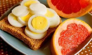 Похудеть за неделю яичная