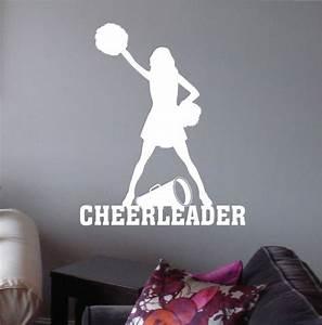 17 best ideas about cheerleading megaphones on pinterest With vinyl letters for megaphones