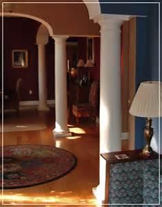 interior home columns interior columns