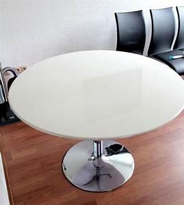 Runder Tisch Kaufen : runder tisch weiss hochglanz com forafrica ~ Markanthonyermac.com Haus und Dekorationen