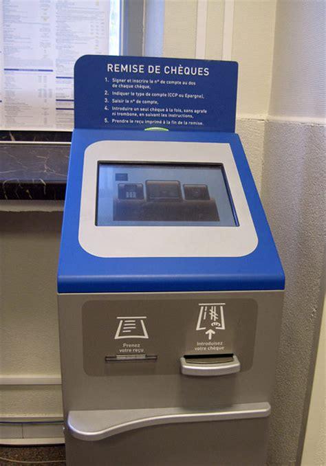 la banque postale si鑒e l 39 automate de la poste française vous êtes forcés de l 39 adopter