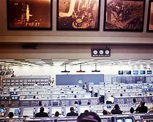 NASA Mission Control Center Apollo 8 Photo Print for Sale