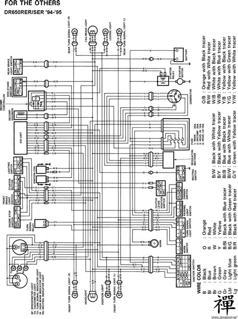 suzuki dr electrical page