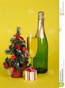 Tannenbaum Im Topf : champagne kleiner tannenbaum im topf und in der geschenkbox stockbild bild 35176321 ~ Frokenaadalensverden.com Haus und Dekorationen
