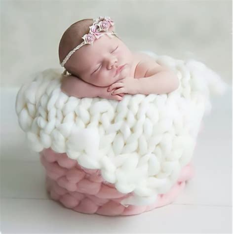 baby newborn balls blanket photo prop newborn baby