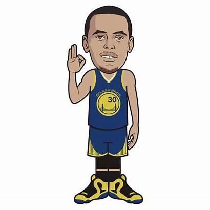 Stephen Clipart Curry Cartoon Warriors Golden State