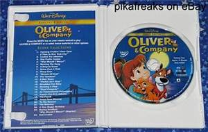 Oliver & Company Walt Disney DVD Special Edition in ...