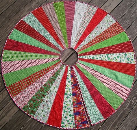 christmas tree skirt tutorial quilting and sewing