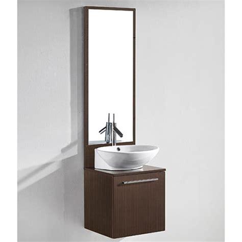 All Modern Bathroom Sinks by Madeli Alassio 18 Quot Bathroom Vanity Walnut Free
