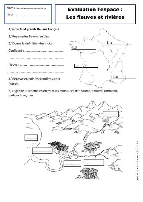 Carte Montagne Cycle 3 by Fleuves Rivi 232 Res Paysages Ce1 Evaluation Espace