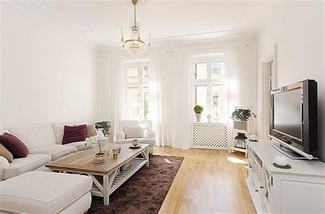 stylish  bedroom apartment  stockholm