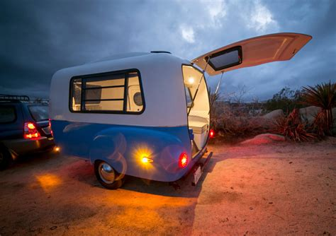 happier camper hc ultra light fiberglass camper prototype