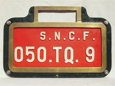 plaque d immatriculation locomotive wikiwand