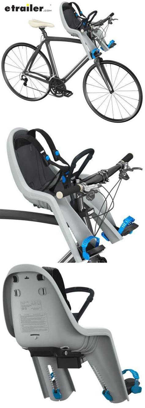 The bike seat is arguably the essential part of a bike. Thule RideAlong Mini Child Bike Seat - Front Mount - Light ...