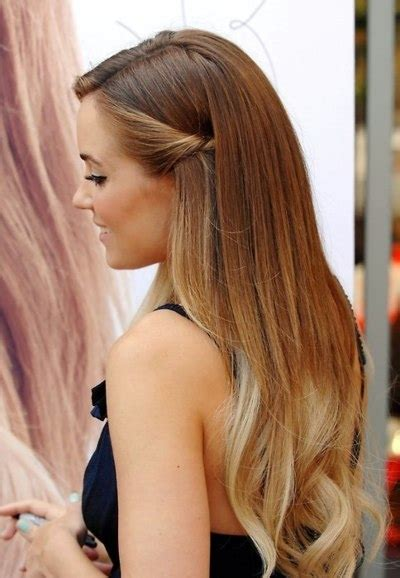 Blonde Dip Dyed Hair Lauren Conrad Ombre Image