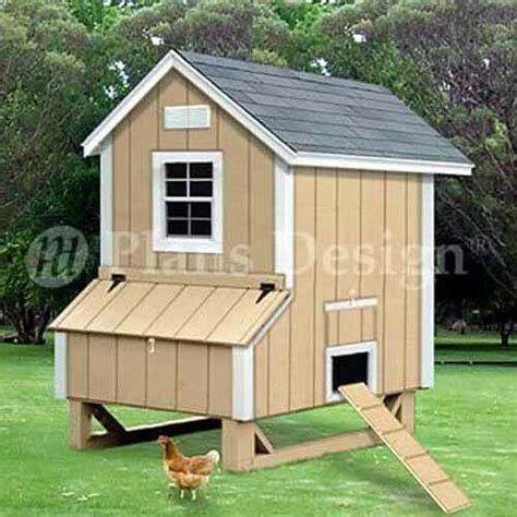 Backyard Chicken Coop Designs by Backyard Chicken Poultry House Coop Buling Plans 90405g