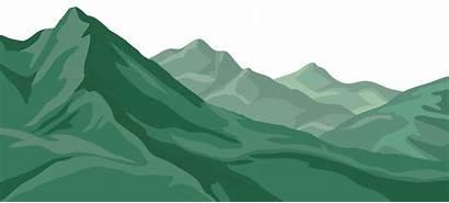 Mountain Mountains Clip Clipart Transparent Ranges Cartoon