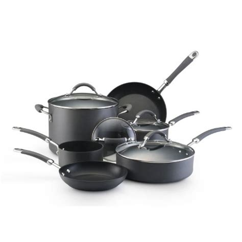 kitchenaid nonstick anodized friday hard piece cookware