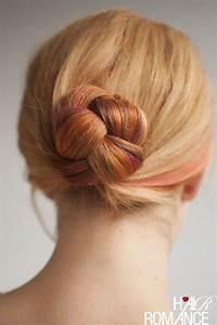 Braided Bun Hairstyle Tutorial Hair Romance