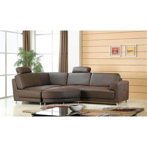 canap 233 mistergooddeal canap 233 cuir d angle neils angle en cuir pouf chocolat ventes pas