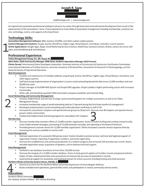 Exle Of Professional Overview For Resume by How To Write A Career Summary On Your Resume Recentresumes