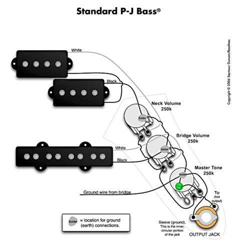 pj bass wiring issue my les paul forum
