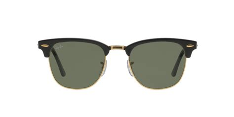 Ray ban rb3016 clubmaster w0365 sunglasses black frame 51mm. Ray-Ban ® Clubmaster RB3016-W0365 | Withsunglasses.co.uk