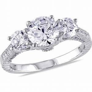 miabella 5 carat tgw cubic zirconia sterling silver With www walmart com wedding rings