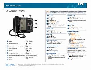 Mitel Mivoice 5320e Ip Phone Manual