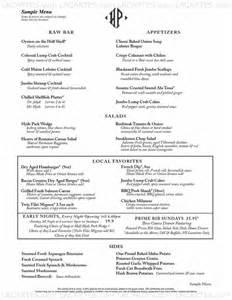 4 of 5 price lists menus hyde park restaurant sarasota fl sarasota american steakhouse